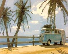 Картина по номерам - Маями