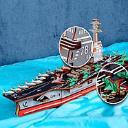 """Деревянные конструкторы для взрослых """"Боевая флотилия США"""", фото 3"""