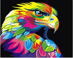 Картина по номерам - Радужный орел
