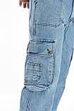 Джинсы мужские WATERMAN E-JNS 300 голубые, фото 8
