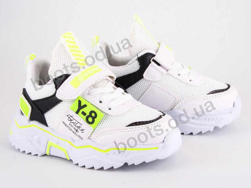 """Кроссовки  детские """"Violeta"""" #200-118K white-green. р-р 25-30. Цвет белый. Оптом"""