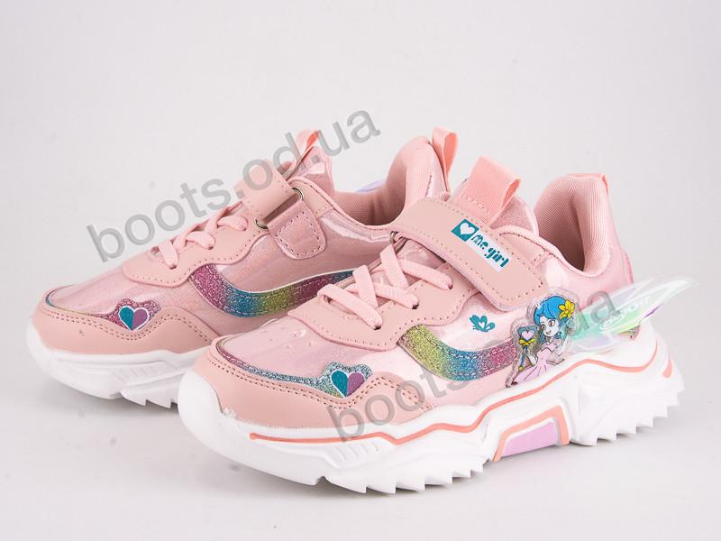 """Кроссовки  детские """"Violeta"""" #200-101 pink. р-р 31-36. Цвет розовый. Оптом"""
