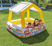 Бассейн детский надувной Домик Intex 57470, фото 2