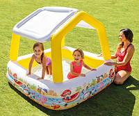 Бассейн детский надувной Домик Intex 57470, фото 3