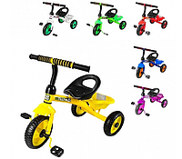 Велосипед трехколесный TILLY TRIKE T-315с EVA колесами и корзиной, Разные Цвета