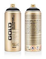 Краска Montana Gold S9000 Черный шок 400 мл (Black) (285783)