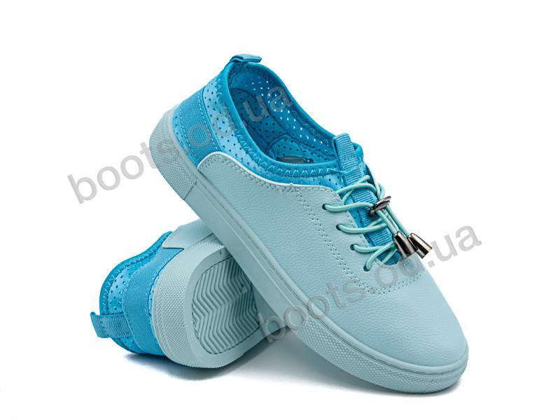 """Кроссовки  детские """"Violeta"""" #203-11 l.blue. р-р 30-35. Цвет синий. Оптом"""