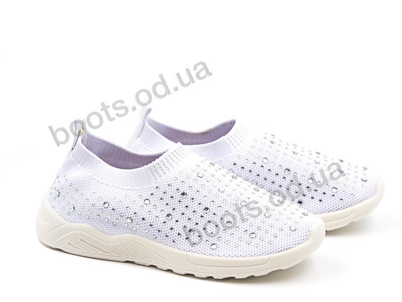 """Кроссовки  детские """"Violeta"""" #203-18K white. р-р 25-30. Цвет белый. Оптом"""