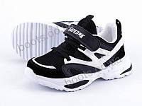 """Кроссовки  детские """"Violeta"""" #200-47K black-white. р-р 25-30. Цвет черный. Оптом"""