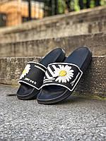 Женские тапки сланцы Nike Sleepers черные