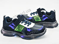 """Кроссовки  детские """"Violeta"""" #200-69 d.blue. р-р 31-36. Цвет синий. Оптом"""