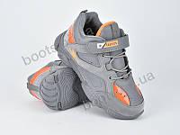 """Кроссовки  детские """"Violeta"""" #200-82 grey orange. р-р 31-36. Цвет серый. Оптом"""