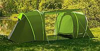 Палатка туристическая 4 местная с тамбуром Presto Lofot 4 зеленая