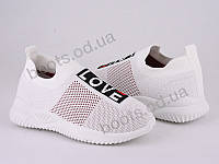 """Кроссовки  детские """"Violeta"""" #4-601K white. р-р 31-36. Цвет белый. Оптом"""