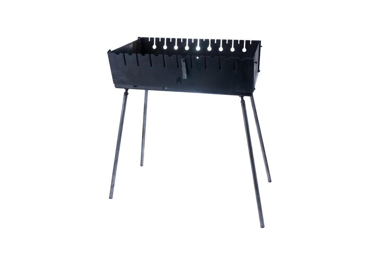 Мангал-чемодан DV - 10 шп x 2 мм (горячекатаный)