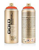Краска Montana Gold F2000 Флуоресцентная оранжевая 400 мл (Power Orange) (283826)