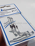 Viessmann 4177 Утримує елемент для поперечної конструкції,комплект 5 шт., масштабу 1/87, H0, фото 2