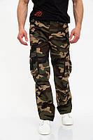 Мужские длинные штаны из 100% хлопка с карманами по бокам (29-36)