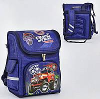 Рюкзак школьный каркасный N 00129, 1 отделение, 3 кармана, ортопедическая спинка. DiaDi