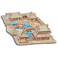 Пазл конструктор деревянный 3D   Большая головоломка, фото 2