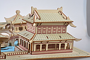 Пазл конструктор деревянный 3D   Большая головоломка, фото 5
