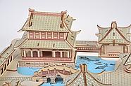 Пазл конструктор деревянный 3D   Большая головоломка, фото 4