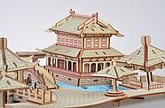 Пазл конструктор деревянный 3D   Большая головоломка, фото 6