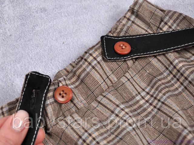 шорты на подтяжках