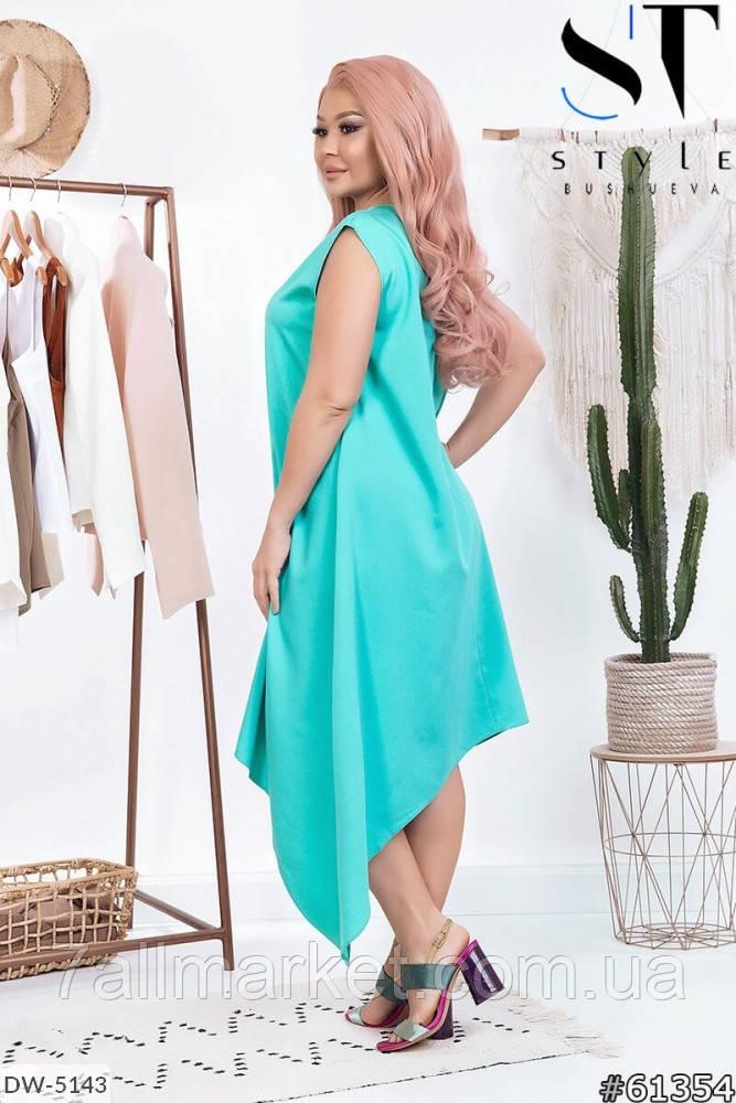 """Платье женское модель: 235 (50-52, 54-56, 58-60, 62-64) """"Lemon Shop"""" недорого от прямого поставщика"""