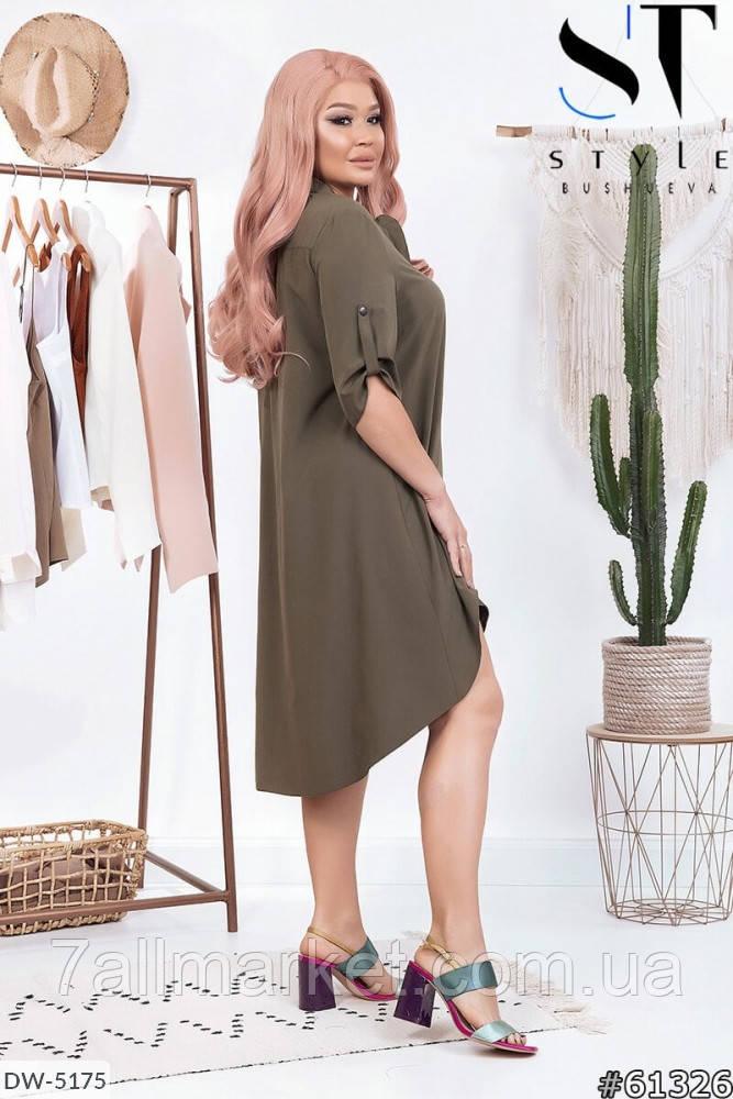 """Платье женское модель:182 (50-52, 54-56) """"Lemon Shop"""" недорого от прямого поставщика"""