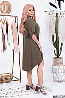 """Платье женское модель:182 (50-52, 54-56) """"Lemon Shop"""" недорого от прямого поставщика, фото 1"""