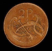 Монета Ирландии 2 пенни 1979 г.