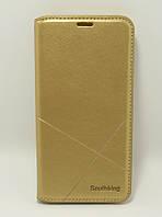 Чехол-книжка для смартфона Huawei P20 Lite(ANE-LX1) золотая MKA
