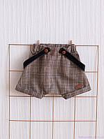 """Детские шорты на подтяжках """"Rory"""", коричневые"""