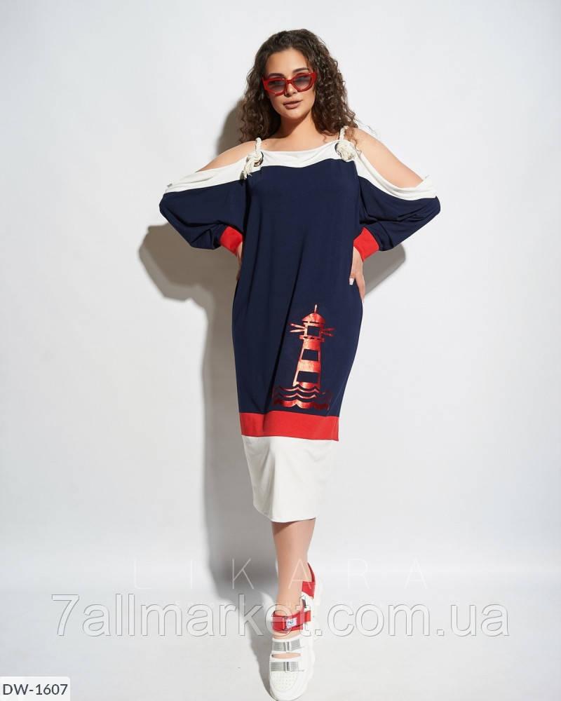 """Платье женское мод.967 (50-52, 54-56) """"INELLA"""" недорого от прямого поставщика"""