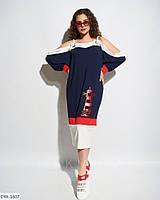 """Платье женское мод.967 (50-52, 54-56) """"INELLA"""" недорого от прямого поставщика, фото 1"""
