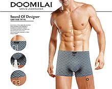 Мужские боксеры стрейчевые из бамбука  Марка  «DOOMILAI» Арт.D-01382, фото 3