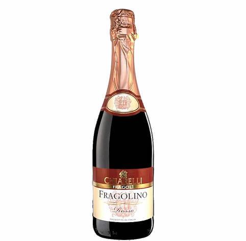 Фраголіно Chiarelli червоне суничне Fragolino Rosso 0.75L, фото 2