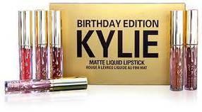 Набор Матовая жидкая помада KYLIE Birthday Edition Gold