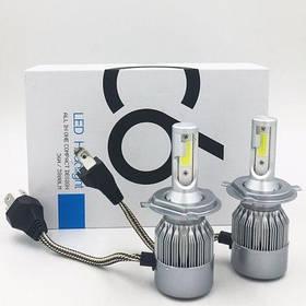 Авто LED лампы C6 Н4 ближний