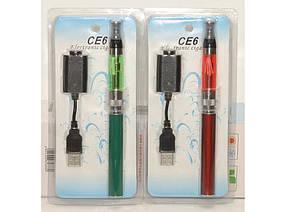 Электронная сигарета CE6 + зарядка MK98, сигарета ego ce6 1100 mah