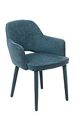 Стілець крісло M-23 м'який аквамарин, шенил