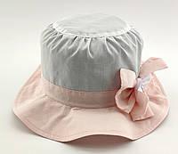 Оптом детские панамки с 52 по 54 размер панама детская опт головные уборы для девочки хлопок, фото 1