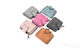 Женский замшевый кошелек бумажник  Baellerry Forever Mini