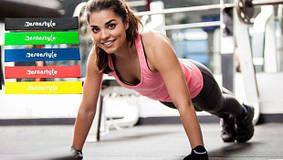 Фитнес резинки 4 в 1 / резинки для фитнеса  EsonStyle