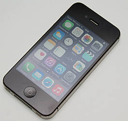 Apple iPhone 4S 8GB Black Neverlock+захисне скло