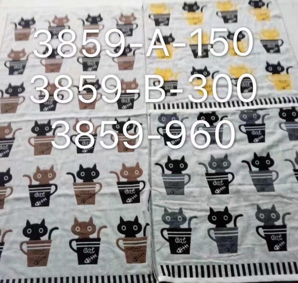 Полотенце лицевое Лен Р.р 50*100  (рисунки разные)