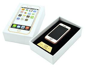 Спиральная электрическая USB зажигалка UKC Iphone 909