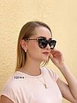 Модні чорні сонцезахисні окуляри лінза polarized, фото 2