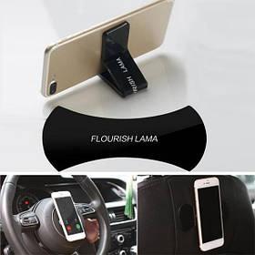 Универсальная нано липучка, держатель для телефона и гаджетов Flourish